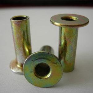 Steel Rivets Zinc Coated Brakes Rivets